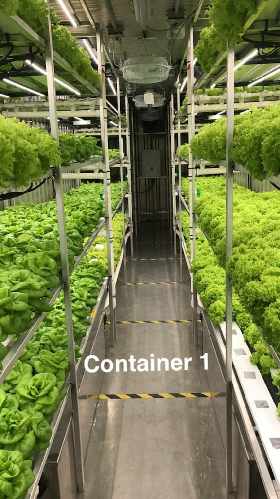 Container #1 Aleutian Greens - Indoor hydroponic Farm