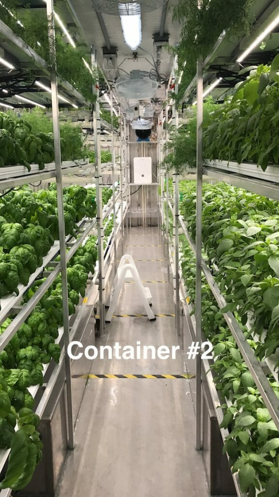 Container #2 Aleutian Greens - Indoor hydroponic Farm