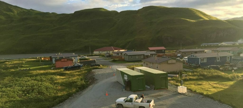 Aleutian Greens Containerized Farm Installation, Unalaska, Alaska