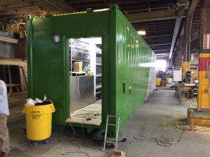 Containerized Growing System Gen IV Manufacturing